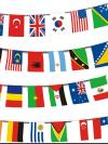 Flags of the world bunting