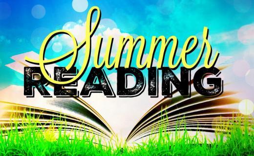 summer reading sign
