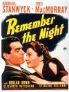 Remember the Night Movie Poster