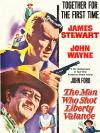 The Man Who Shot Liberty Valance Movie Poster