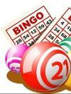Graphic Of bingo card and balls