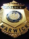 A Warwick Police Badge